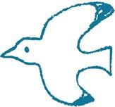 自由の象徴カモメのイラスト